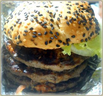 Bully Boy Burger at Army Navy