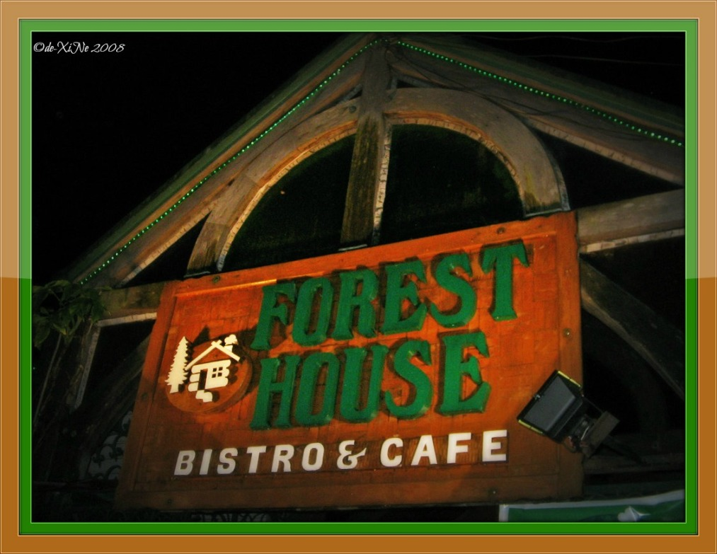Forest House sign