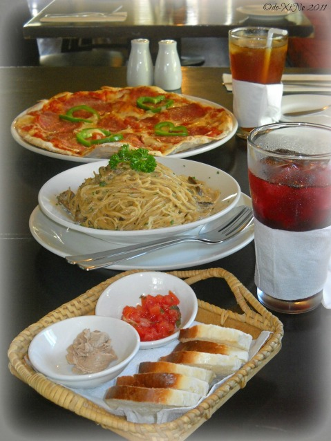 Italian cuisine at Cantinetta