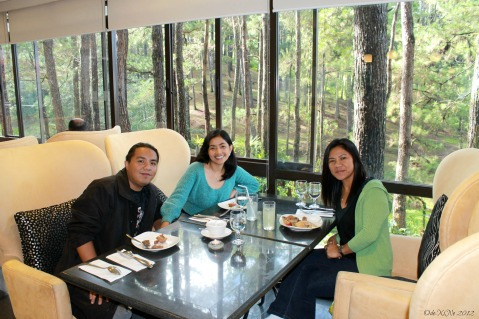Dinelli's Gourmet, Table with A Forest View