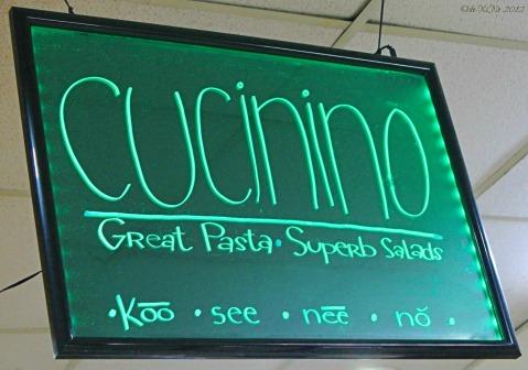 Cucinino sign