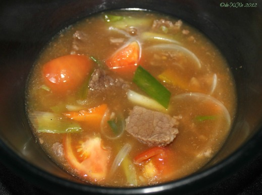 Baguio Marosan's Beef Tomato