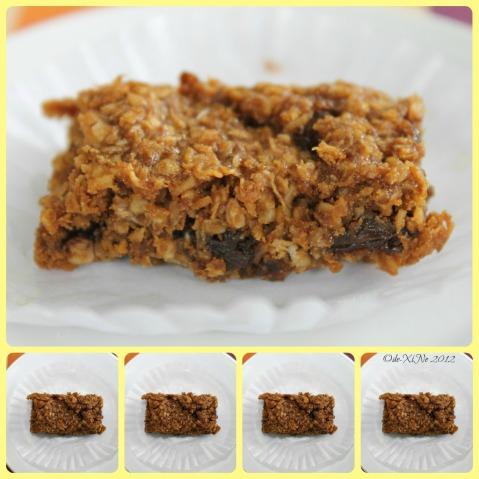 Oatmeal Bar Dessert