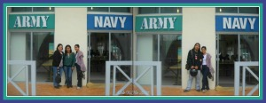 Enlisting for Army Navy