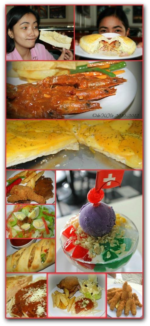 Future Diner food