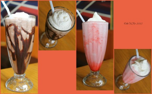 Gustaeu's ice cream shakes