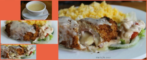 Alvin's Chicken Cordon Bleu at Gustaeu's