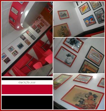 Jim's Retro Diner interior