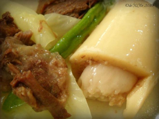 Baguio Rito's bulalo