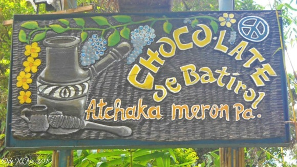 Chocolate de Batirol 2010 sign