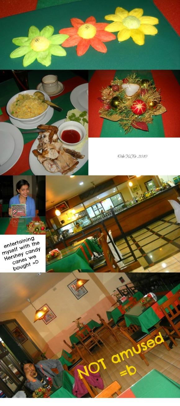 Gecko scene, food and us