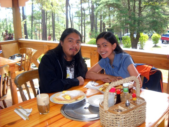 Baguio Breakfast Dining at House of Waffles