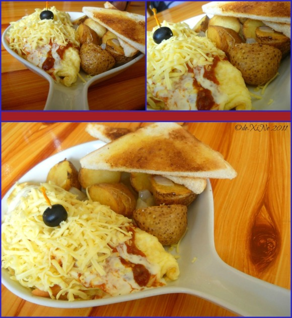 Baguio House of Waffles mexicali skillet