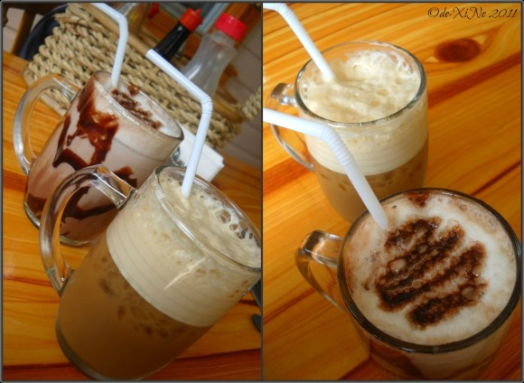 Baguio House of Waffles drinks