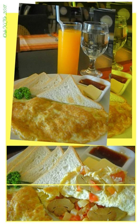 Sunflower Cafe Andalucian omelet
