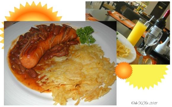 Sunflower Cafe Hungarian breakfast