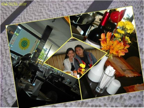 Sunflower Cafe scene