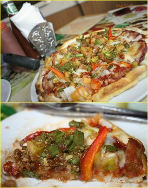 Zio's Salsiccia Pizza