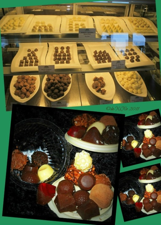Baguio Country Club chocolates