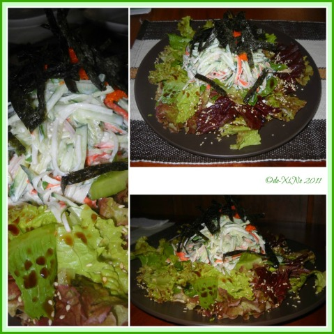 Chaya Kani Salad