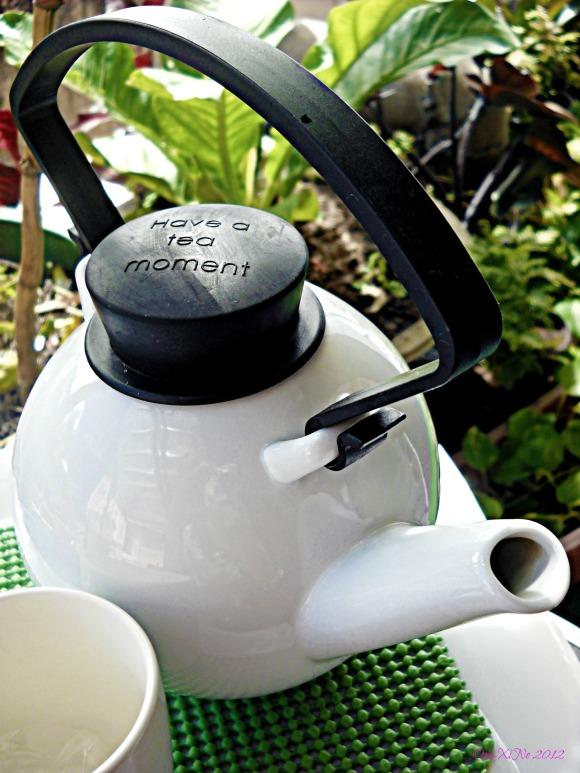 ZenTea hot green tea with lavender
