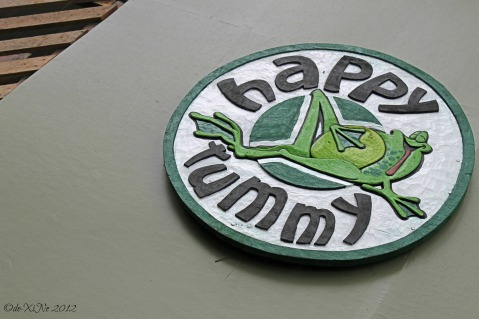 Happy Tummy sign