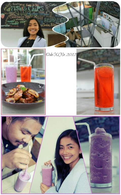 Circulo oven baked pork belly and drinks