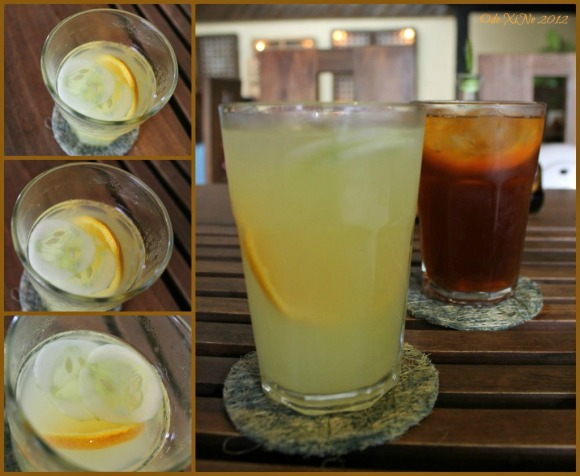 Sinamak drinks (citrus quencher)