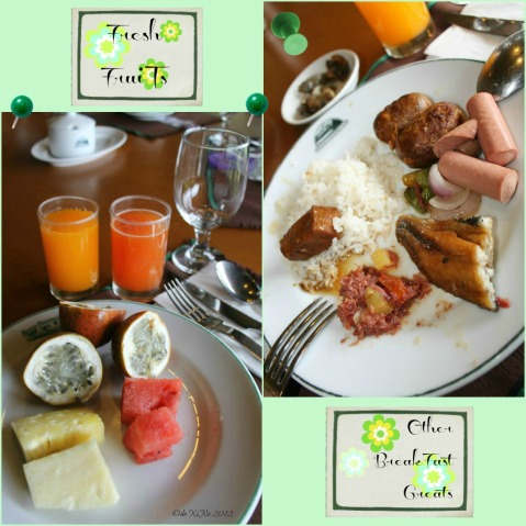 Baguio Country Club breakfast eats