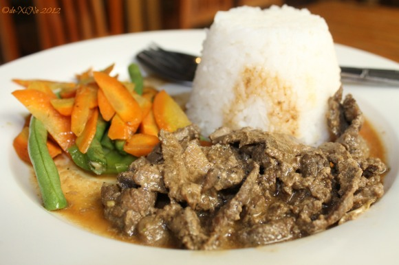 Tam-awan Cafe beef steak