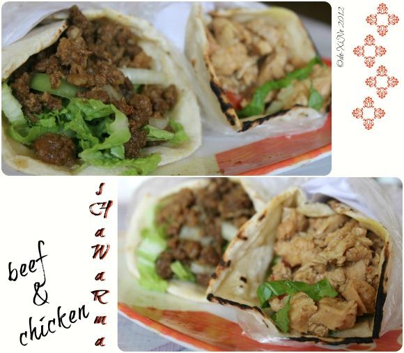 Amirah's Arabian Cuisine shawarma