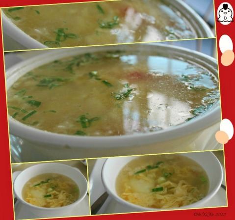 Good Taste egg soup