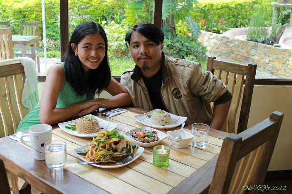 Dining at Baguio Chef's Home Asian Fusion Cuisine 2012