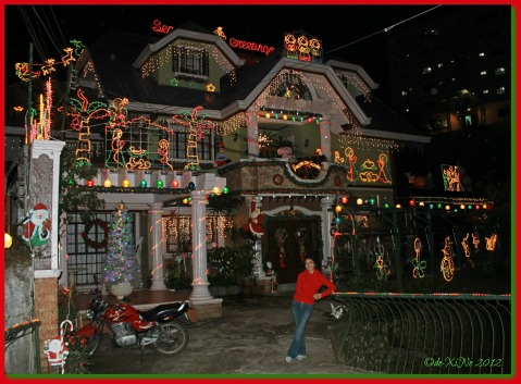 Christmas House and me