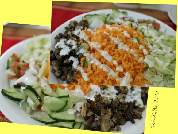 Ali's shawarma rice