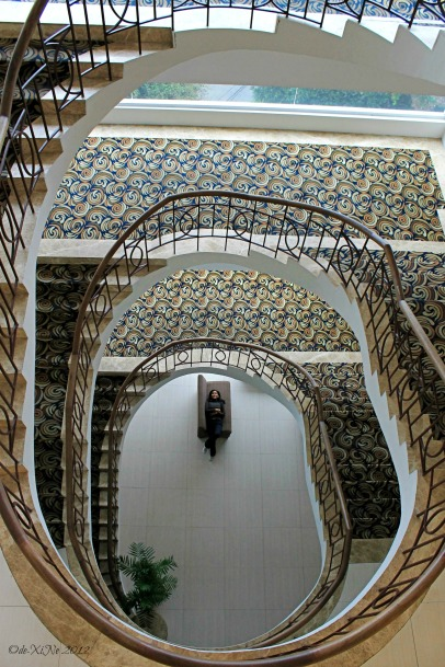 Citylight Hotel staircase