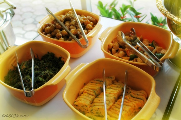Cuore Buffet side side dishes