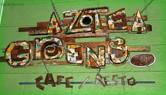Azotea Greens sign