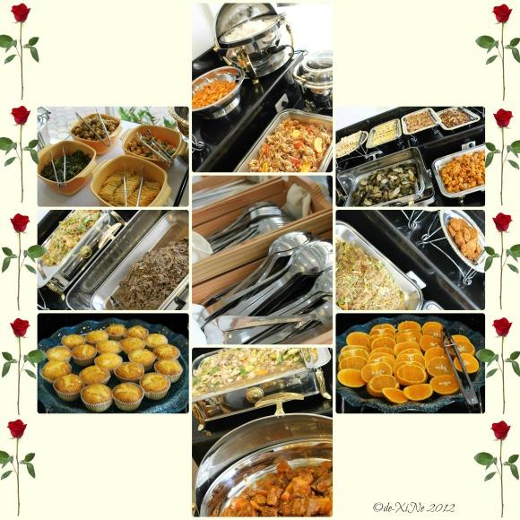 Cuore Buffet spread