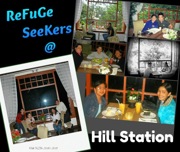 dining at Hill Station