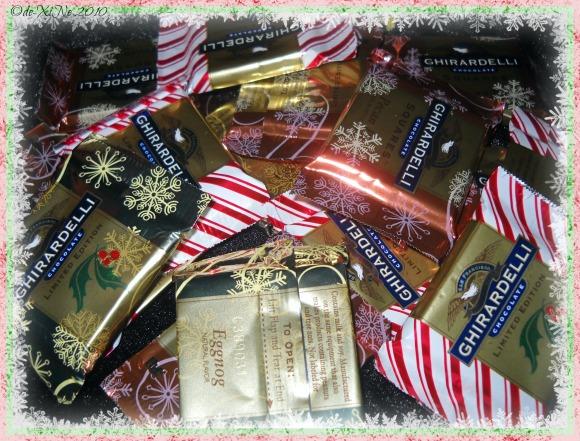 Ghirardelli holiday chocolate assortment