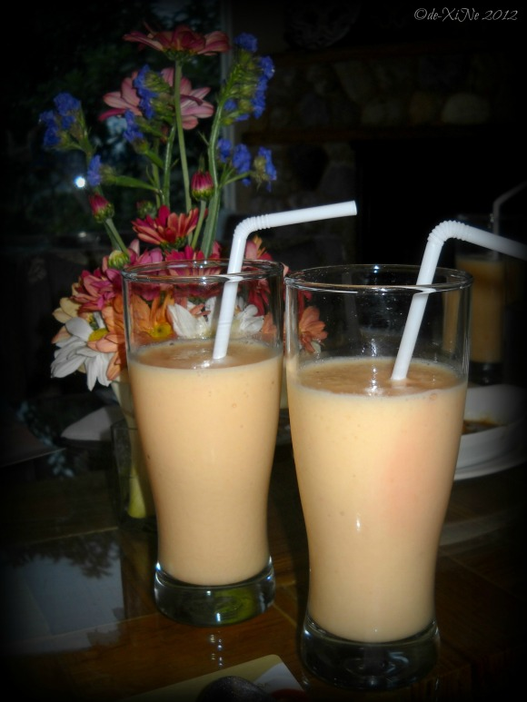 Dulcinea tropical fruit shake pitcher