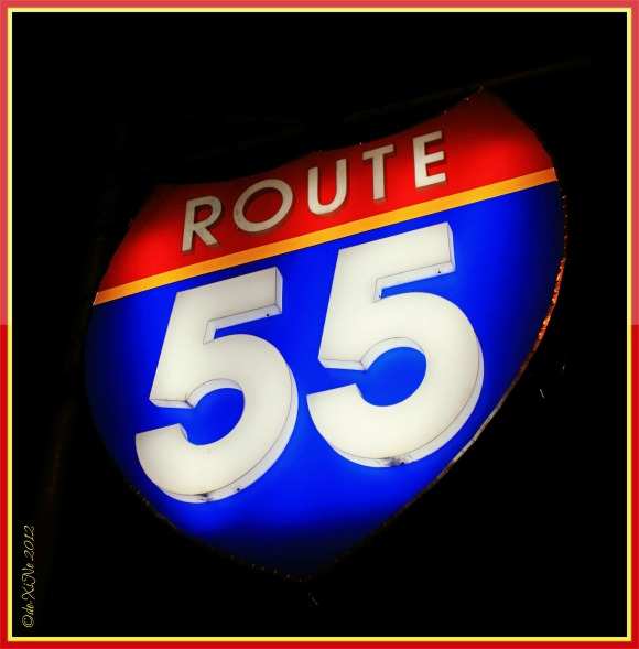 Route 55 sign