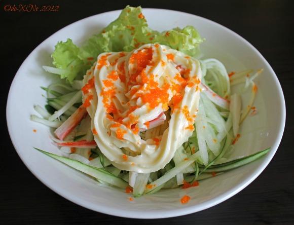 Cafe Sapore kani salad