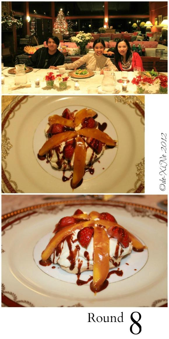 Mama's Table dessert pavlova