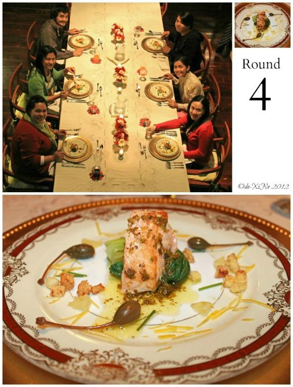 Mama's Table seafood dish - salmon