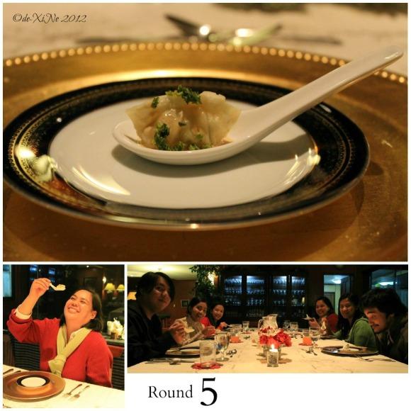 Mama's Table second intermezzo - dumpling in a spoon