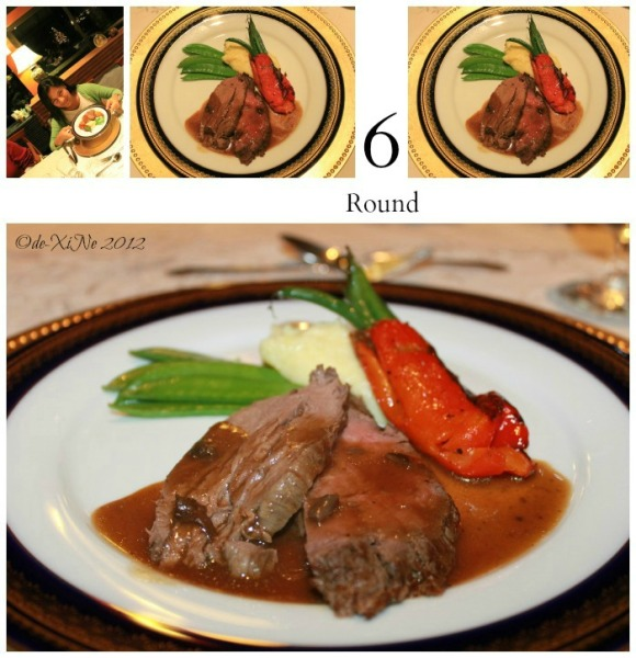 Mama's Table tenderloin with au jus sauce