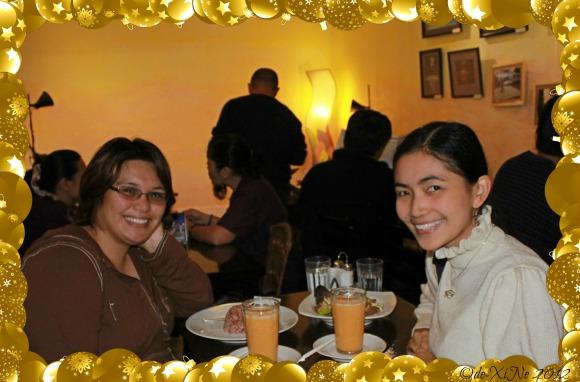dining at Azotea Greens