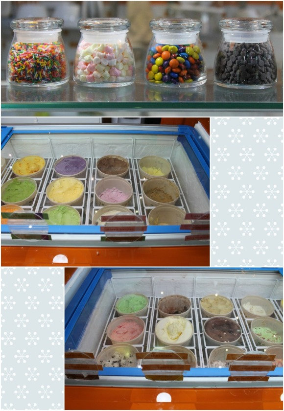 Fruits in Ice Cream (FiC) Summer Cafe selection